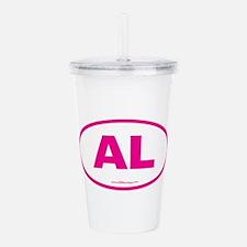 Alabama AL Euro Oval P Acrylic Double-wall Tumbler