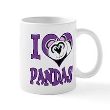 I Love (Heart) Pandas Mug