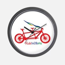 Ride With Me Wall Clock
