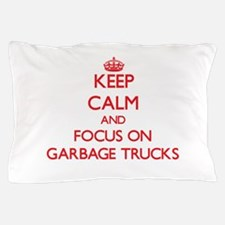 Funny Garbage truck Pillow Case