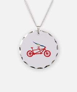Bicycle For Two Necklace