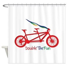 Double The Fun Shower Curtain