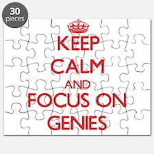 Cute Genies Puzzle