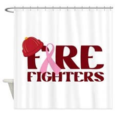 Fire Fighters Shower Curtain