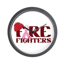 Fire Fighters Wall Clock