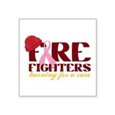 Fighters Burning For A Cure Sticker