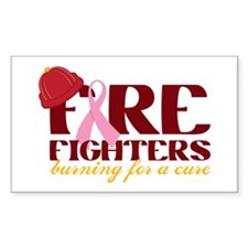 Fighters Burning For A Cure Decal