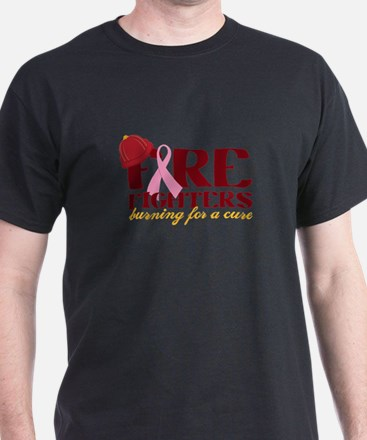 Fighters Burning For A Cure T-Shirt