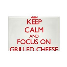 Keep Calm and focus on Grilled Cheese Magnets
