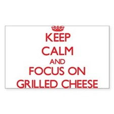 Keep Calm and focus on Grilled Cheese Decal