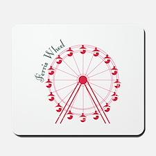 Ferris Wheel Ride Mousepad