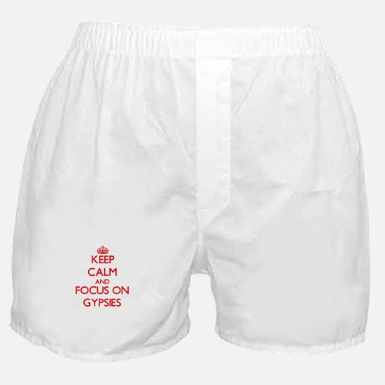 Cute Gypsy girl Boxer Shorts