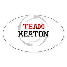 Keaton Oval Decal