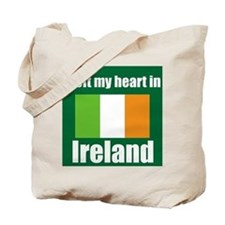 I left my heart in Ireland Tote Bag
