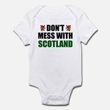 Don't Mess With Scotland Infant Bodysuit