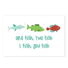 I Fish You Fish Postcards (Package of 8)