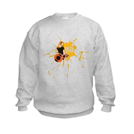 Feel The Groove Kids Sweatshirt
