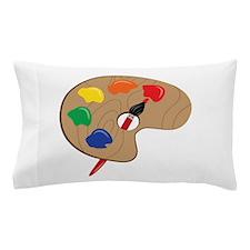 Artist Palette Pillow Case