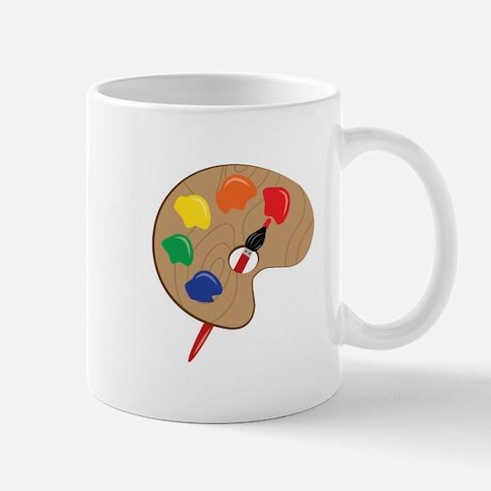 Artist Palette Mugs