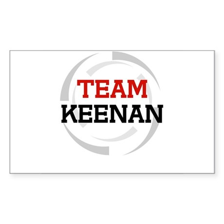 Keenan Rectangle Sticker