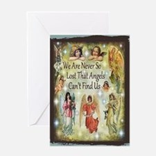Angels Card Greeting Cards