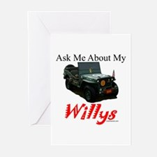 """""""Ask Me"""" Greeting Cards (Pk of 10)"""