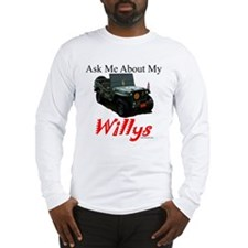 """Ask Me"" Long Sleeve T-Shirt"
