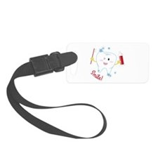 Smile! Luggage Tag