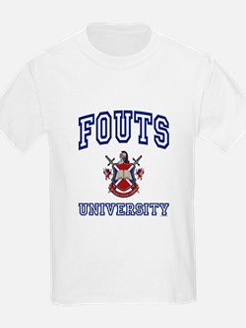 FOUTS University T-Shirt