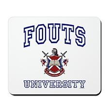 FOUTS University Mousepad