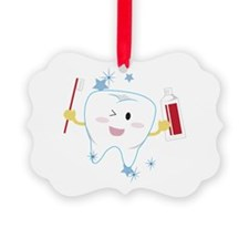 Tooth & Paste Ornament