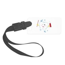 Tooth & Paste Luggage Tag