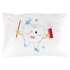 Tooth & Paste Pillow Case