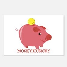 MONEY HUNGRY Postcards (Package of 8)