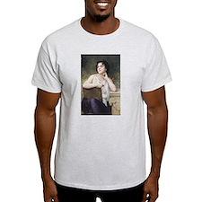 Woman Writer Classical Bouguereau Painting T-Shirt