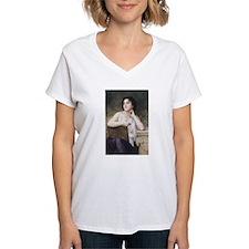 Woman Writer Classical Bouguereau Painting Shirt