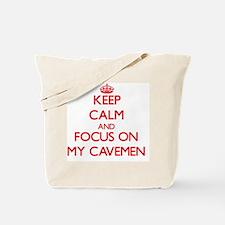 Cavemen Tote Bag
