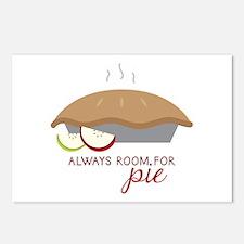 Always Room Be Pie Postcards (Package of 8)