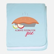 Always Room Be Pie baby blanket