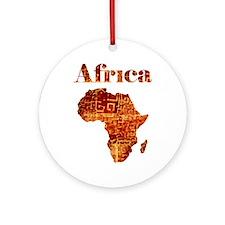Ethnic Africa Ornament (round)