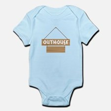 Outhouse Blank Caption Body Suit