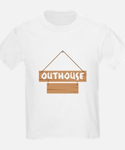 Outhouse Blank Caption T-Shirt