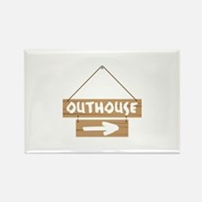 Outhouse Arrow Magnets