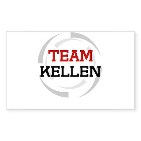 Kellen Rectangle Sticker