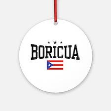 Boricua Ornament (Round)