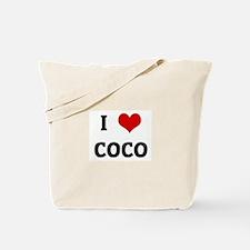 I Love COCO Tote Bag