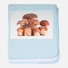 Cute Mushrooms baby blanket