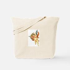 Victorian Cupid 4 Tote Bag