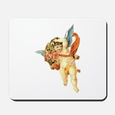 Victorian Cupid 4 Mousepad