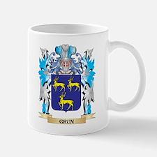 Grun Coat of Arms - Family Crest Mugs